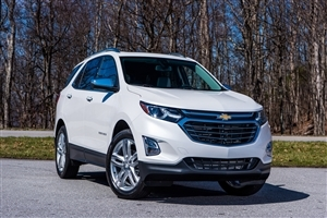 2018 Chevrolet Equinox SUV White Car