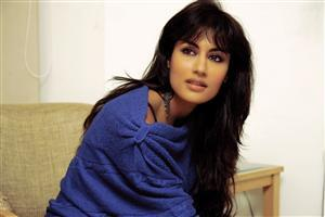 Chitrangada Singh in Blue Dress