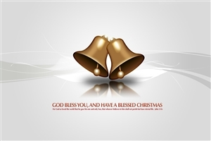 2013 Christmas Greetings Photo with Christmas Bells Images