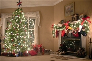 Amazing Super Home Christmas Tree and Gift Decoration on 2013 Christmas Festival HD Wallpapers