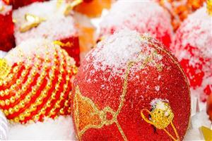 Beautiful Christmas Balls Image