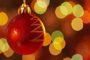 HD Nice Christmas Ball Wallpaper Collection