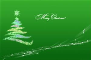 Merry Christmas Green Wallpaper on Christmas Holiday Free Download