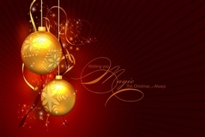 Merry Christmas Magic Wishing Greetings Nice HD Photos