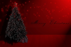 Merry Christmas with Christmas Tree Super Images