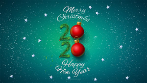 Merry Christmas with Happy New Year 2020