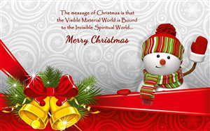 Wishing You Merry Christmas Greetings Photo