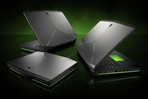 New Alienware Laptop HD Desktop Background Wallpaper