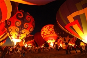 Albuquerque International Balloon Fiesta in NM US HD Photos