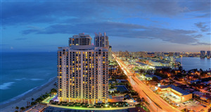 Beautiful View of International Drive Florida Wallpaper
