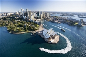 Beautiful Water View of Sydney City of Australia