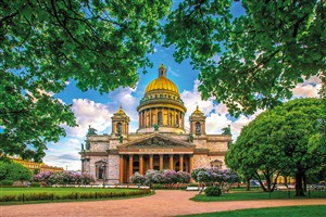 Beautifull St Isaacs Cathedral Saint Petersburg Russia Travel Pic