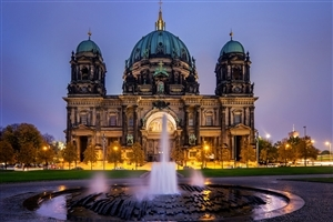 Berlin Cathedral in Berlin Germany Travel 2018 Wallpaper