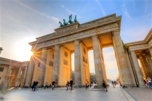 Brandenburg Gate in Berlin Germany Tourist Place Wallpaper