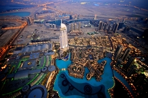 Burj Khalifa Dubai City in UAE HD Wallpapers