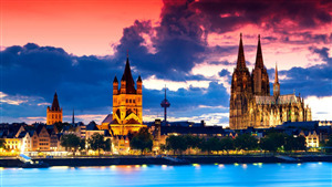 Cologne Cathedral in Germany HD Wallpapers