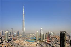 Country Dubai Building of Burj Khalifa 163 Floors
