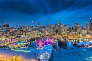 Darling Harbour City of Sydney Australia HD Wallpapers