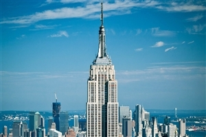 Empire State Building in New York City Image
