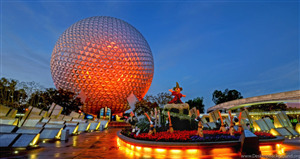 Epcot Theme Park in Bay Lake Florida City Wallpaper