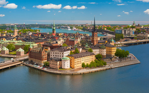 Gamla Stan Town in Sweden Fine Wallpapers