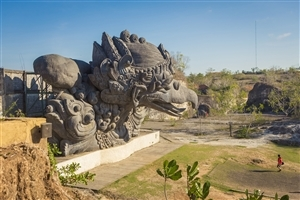 Garuda Wisnu Kencana Cultural Park in Indonesia Tourist Place Wallpaper