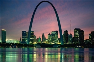Gateway Arch in St Louis US HD Tourist Wallpapers