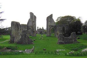 Glastonbury Abbey Monastery in Country UK HD Photos