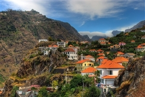 Images of Portugal Mountains City View