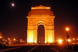 India Gate Tourist Place in Delhi Photo