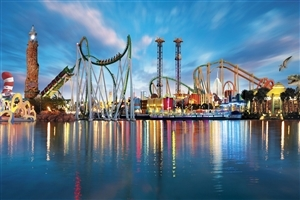 Islands of Adventure Theme Park in Florida USA Photo