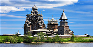 Kizhi Island in Russia Tourist Place Photo