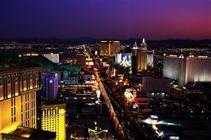 Las Vegas Strip Road in Nevada US Travel Wallpaper