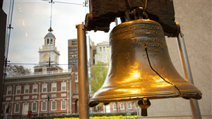 Liberty Bell in Philadelphia Pennsylvania USA Wallpaper