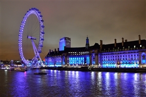 London Eye United Kingdom Country HD Photo