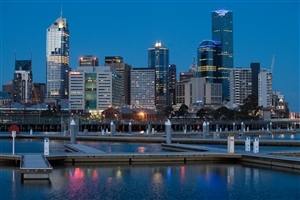 Melbourne City in Victoria Australia Country HD Wallpaper