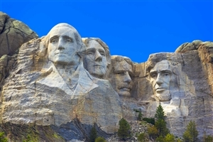 Mount Rushmore National Memorial in USA HD Image