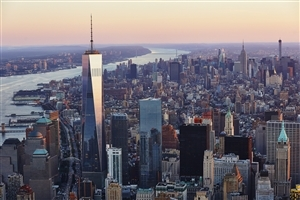 One World Trade Center Building in New York City Wallpaper