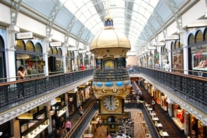 Queen Victoria Building in Australia Country Wallpaper