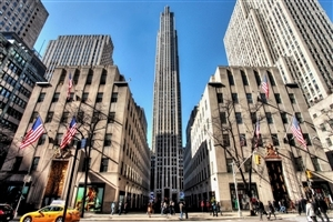 Rockefeller Center Building in New York City Wallpapers