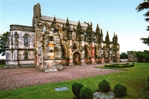 Rosslyn Chapel Secret code of the Knights Templar Tourist Places HD Photos