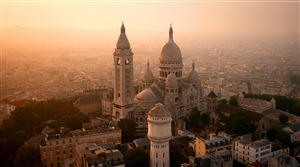 Sacre Coeur Tourist Attraction in Paris France 4K Wallpapers