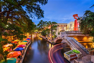 San Antonio River Walk in Texas Beautiful Pic
