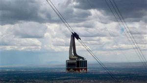 Sandia Peak Tramway Tourist Attraction in New Mexico Wallpaper
