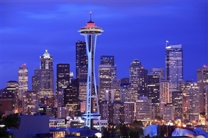 Space Needle Tower in Washington US Country HD Wallpapers
