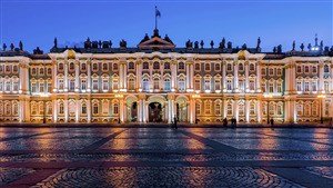 State Hermitage Museum Museum Famous Place in Saint Petersburg Russia Photo