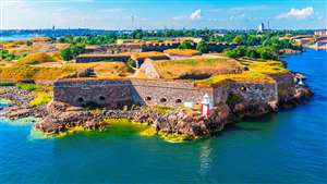 Suomenlinna Fortress Tourist Place in Finland HD Wallpaper