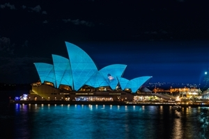 Sydney Opera House in Sydney Australia 4K Wallpaper