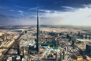 Tallest Building Burj Khalifa in Dubai City UAE HD Wallpapers