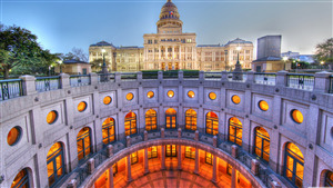 Texas Capitol in Austin Texas 5K Wallpaper